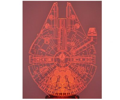 Who doesn't want a millenium falcon lamp? Coolest present ever.
