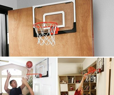 Basketball hoop that you can put on doors for kids bedrooms or the office!