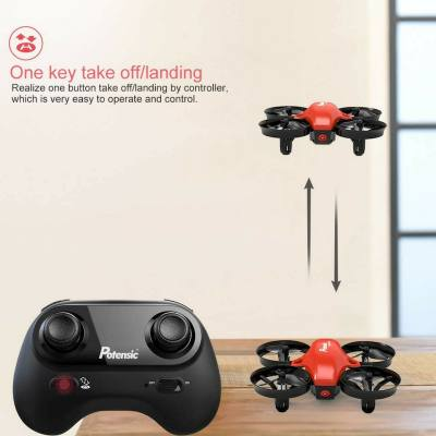 It's a small drone, but it is a lot of fun for kids. It's safe and child friendly and is very easy to control. Just perfect for beginners and kids.