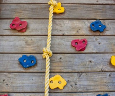Love these rock climbing wall holds. Can be installed both for inside or outside the house.