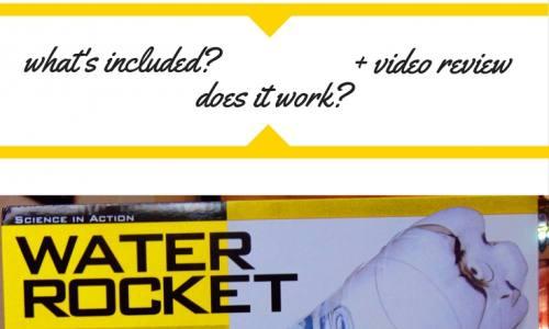 Water Pressure Rocket Toy: 4M Water Rocket Kit Review