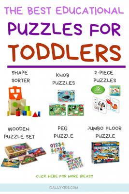 From shape sorters to 2-piece head and tail puzzles. These are the best puzzles for toddlers to help with their cognitive development, creativity and spatial skills.