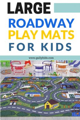 Large roadway play mats for kids who love cars. We feature two of the best rugs by Angels and Ottomanson. These two have vibrant, colorful and good quality mats.