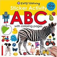 Travel books for toddlers: Nothing better than a good book to read or an activity book when traveling with toddlers by car.
