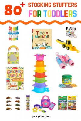 Christmas stocking fillers for 2-3 year olds. Over 80 of the best items for young kids. Gifts they will actually use .