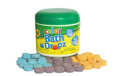 Crayola's coloring tablets for the bath. Make bathtime time for toddlers.
