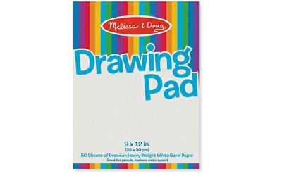 Melissa and doug drawing pad. Thick bondpaper for drawing and scribbling