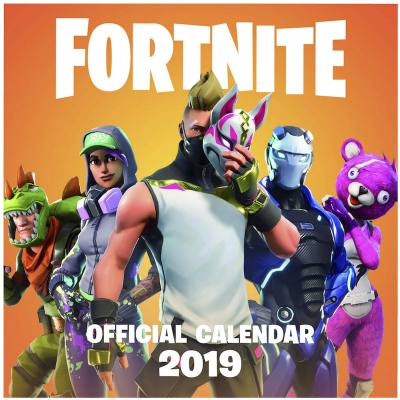 Fortnite Official merchandise. A skin for every month.