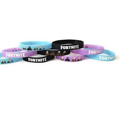 Simple design and affordable Fortnite bracelets which are great as a party favor. Kids will love wearing this every day.