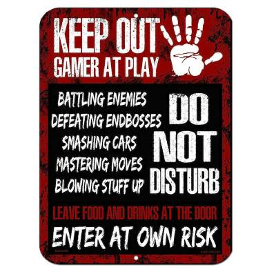 This door poster is not just for the Fortnite player but for any gamer. It's a funny poster that I'm sure many gamers would appreciate having.
