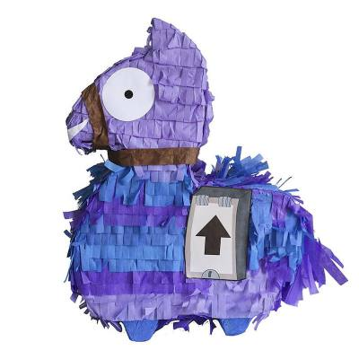 Thinking about holding a Fortnite-themed birthday party? Then you'd love to have this pinata. It can take up to 2 pounds of sweets and toys. this llama is too cute, I don't think I would like it beaten with a bat though. :-)