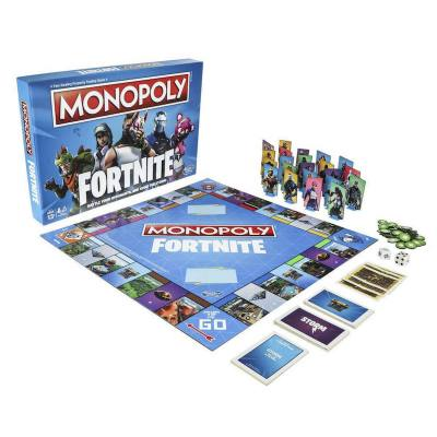 """Monopoly Fortnite - A different twist to the classic game. This Fortnite game will get your kids off the screen and into the family room actually playing a game with """"real"""" people. :=) Lots of fun and should be a great one to play on Christmas day too"""