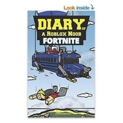"""Fortnite book for kids. What happens when a Roblox player finds himself in the world of """"Fortnite""""? Your kid will want to find out with this book. Finally a way to get your kid off the screen!"""
