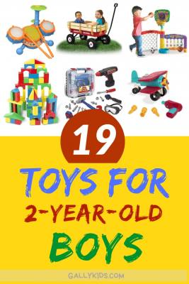 2 yr old boys love these toys. A lot of different ideas for toddler gifts. Whether you have a boy who likes building or playing outdoors or learning the alphabet, you'll find it here. Check it out
