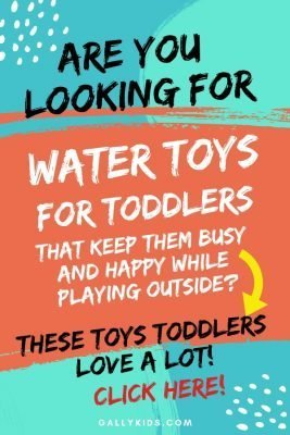 Best outdoor water toys . Are you looking for water toys for toddlers that get them outside for many hours of fun? Toddlers and preschoolers love these toys from paddling pools, bubbles to water beads - Check out the water table, too!