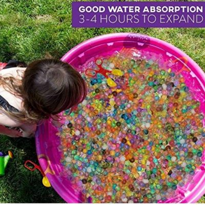 Water beads toys for toddlers and preschoolers- These are great for practicing sensory motor skills. It's fun and very entertaining for young kids,too. It can be used for a lot of activities to practice many developmental skills.