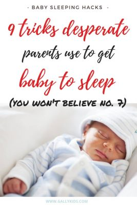 9 tricks desperate parents use to get baby to sleep. You won't believe no. 7. These are all videos of parents getting their baby to sleep. Some of them are actually pretty clever, too. Definitely worth a try.