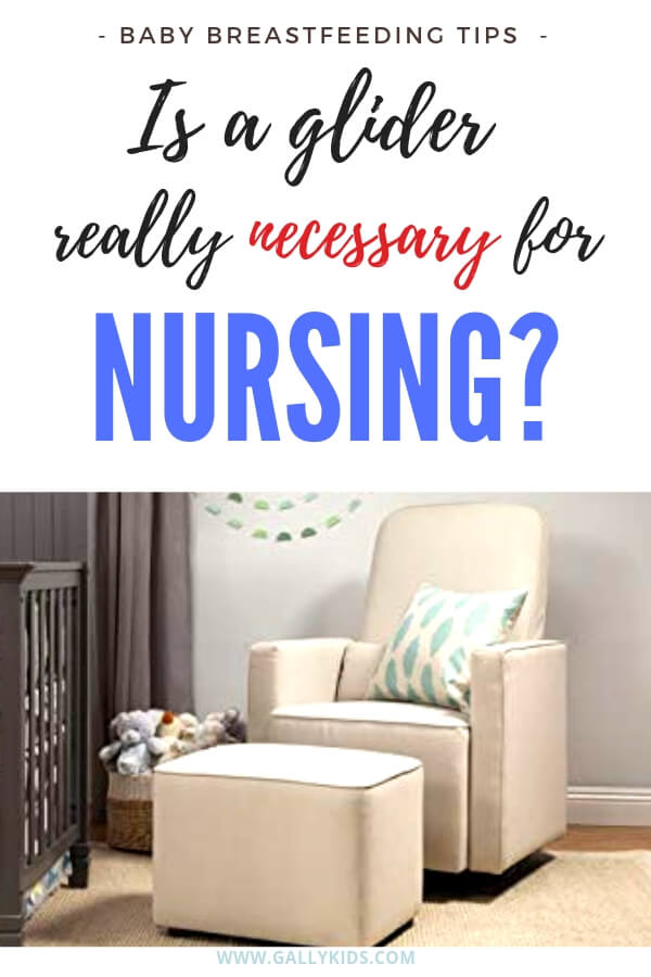 Is a glider really necessary for nursing? Find out if it makes a big difference when breastfeeding and see what other parents say about a nursing chair.