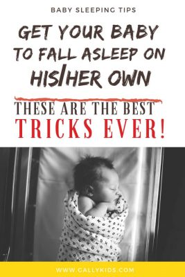 Get your baby to fall asleep on her own. These are the best tricks ever. Always start with these steps when you start a routine with your baby.