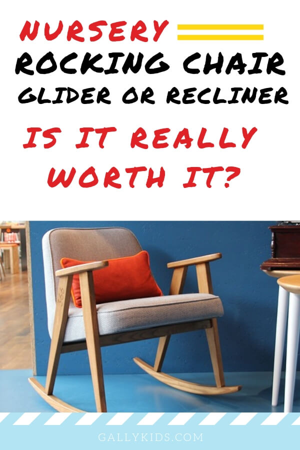 Nursery rocking chairs, glider or recliner. Is it really worth it? A guide to help you decide whether you need a glider for nursing. Read this before you buy things for your baby's arrival.